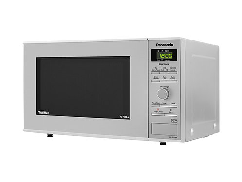 Panasonic NNGD37HSBPQ 23L Inverter Microwave And Grill - Stainless Steel