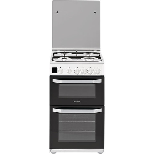 HOTPOINT HD5G00CCW 50 cm Gas Cooker - White