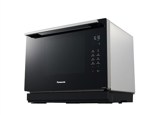 Panasonic NNCF87LBBPQ 31L Flatbed Compact Solo Microwave