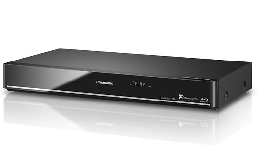 Panasonic DMR-PWT550EB Smart 3D 4K Upscaling Blu-ray Disc/DVD Player with HDD Re