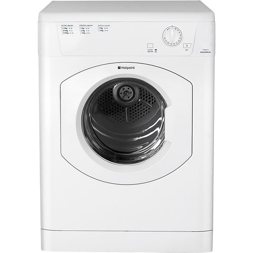 Hotpoint TVHM80CP Vented Tumble Dryer, 8kg Load