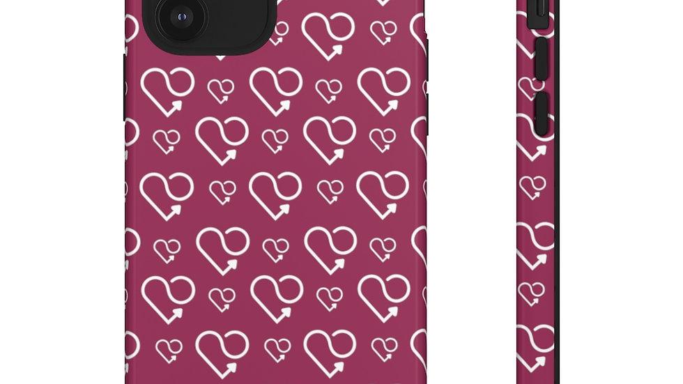 Karmascore Dark Pink Phone Case