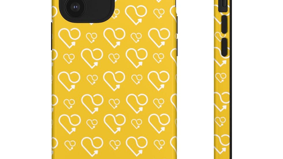 Karmascore Yellow Phone Case
