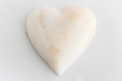 Alabaster Love Heart