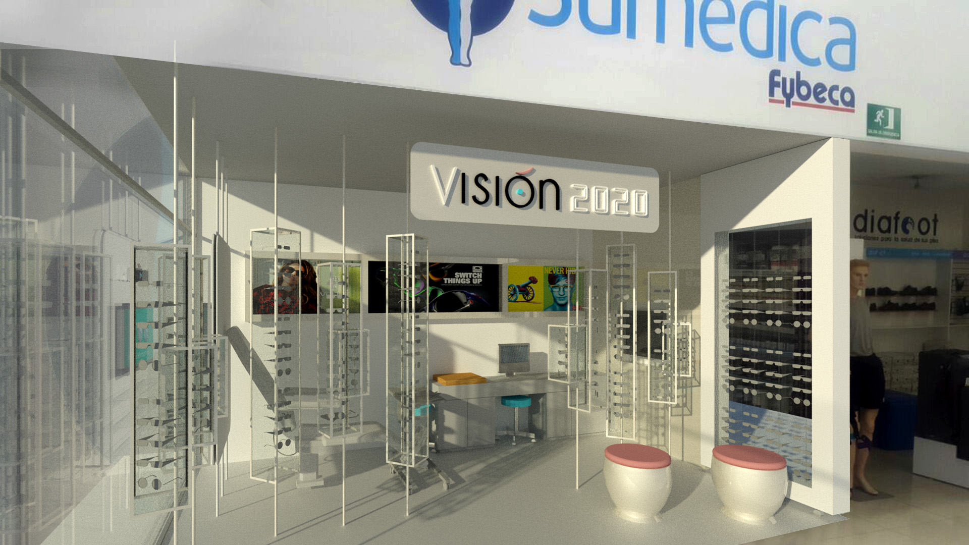 Vision 2020. Front View
