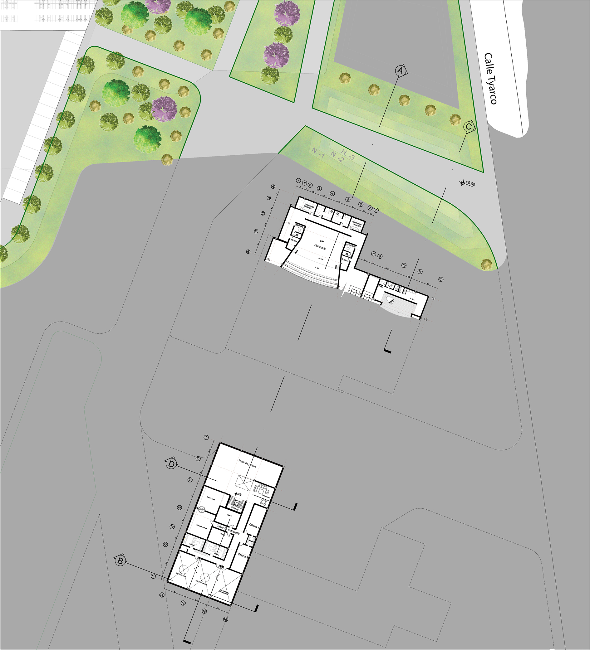 Subground Floorplan