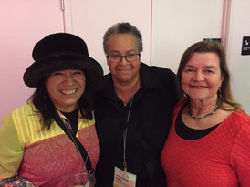 Elia Arce, Linda Parris-Bailey and MK Wegmen at National Performance Network Portland