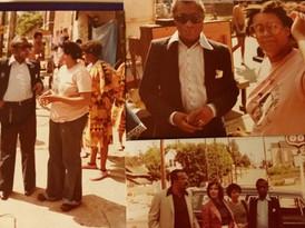 James Baldwin, Linda Parris-Bailey, Wilmer F. Lucas and Guests