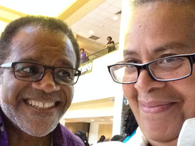 National Black Theatre Festival - Ted Lange and Linda Parris-Bailey