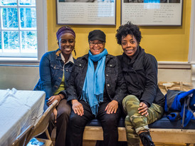 """Sandglass Residency Putney, Vermont - Danielle Colin, Linda Parris-Bailey, Andresia """"Real"""" Moseley"""