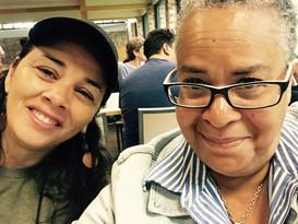 Creative Capital Retreat - Larissa FastHorse and Linda Parris-Bailey