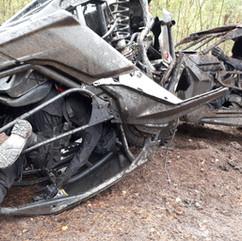 4 Special Action Manikins after crash.