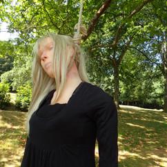 Hanging Girl - Action Manikin - replacin