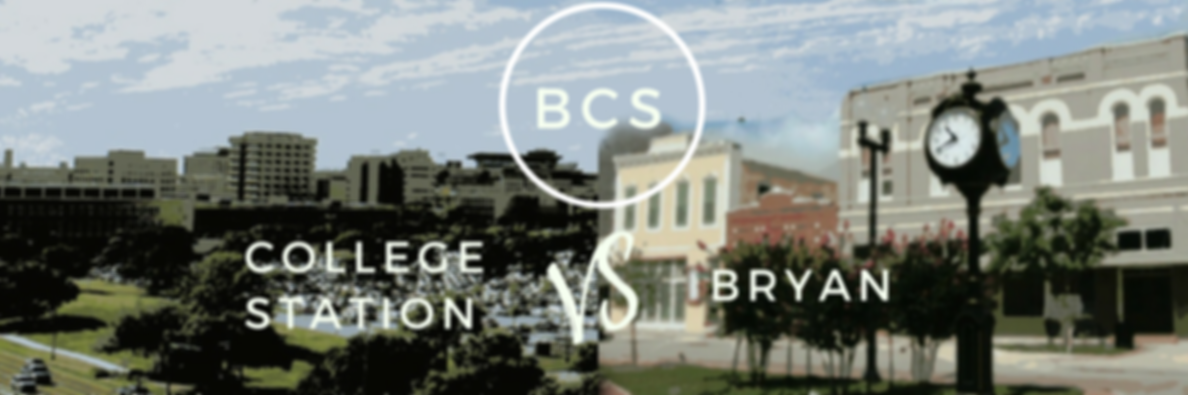 Comparing College Station & Bryan, Bryan and College Station are two next-door cities in Central Texas. If you're moving to BCS, find out which of these cities is the best fit for you & your family.