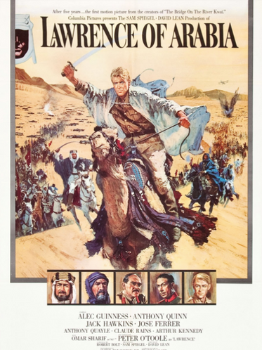 From a forgotten era of cinematography - 'Lawrence of Arabia'