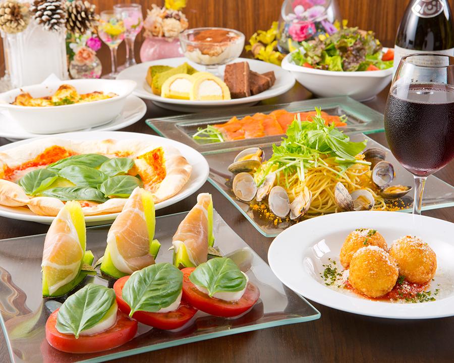 川越のイタリア創作料理店felicita(フェリチタ)紹介/おまかせコー