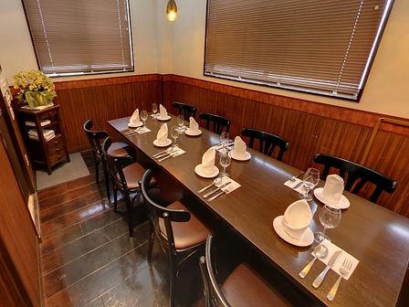 川越のイタリア創作料理店felicita(フェリチタ)紹介/ストリートビュー個室スペース