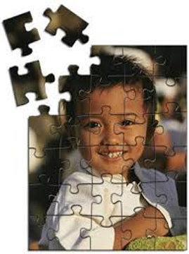 Puzzle 5.25 x 6.75 12-piece Matte