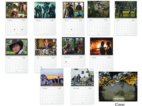 2022 Dutton Ranch Calendar