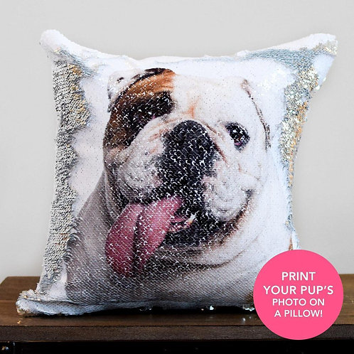 Sequin Pillow Case Custom