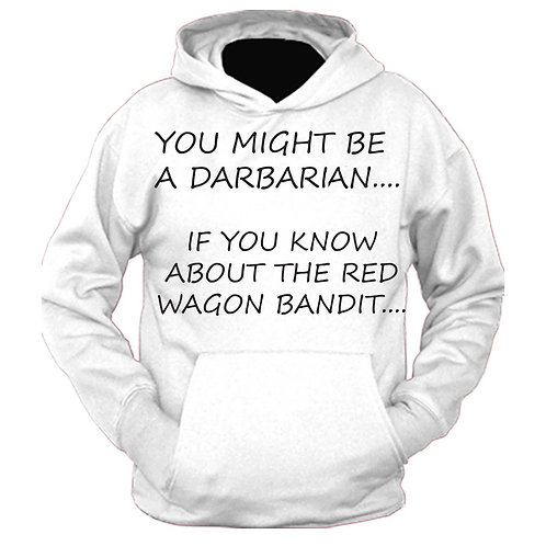 Darby Red Wagon Bandit Hoodie
