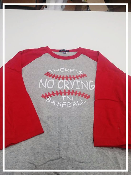 Red/Grey Raglan Base Ball Shirt