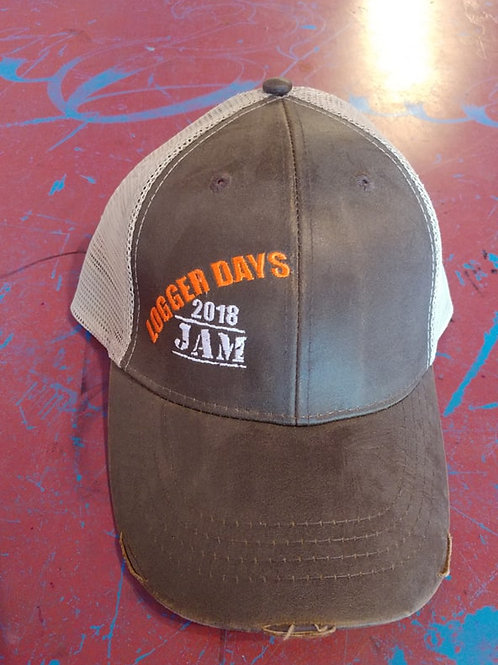 Logger Day Brown Worn Leather 2018