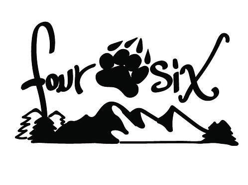 Four Paw Six Mountain Decal