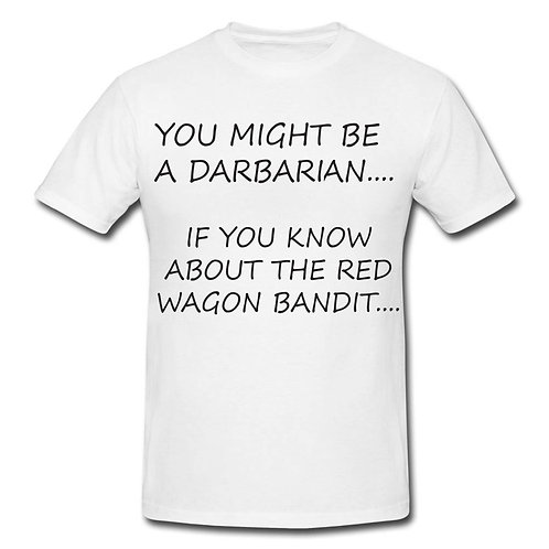 Darby Red Wagon Bandit T-shirt