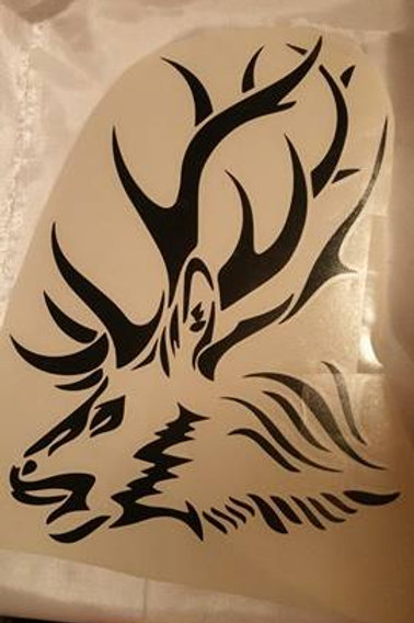 12x8 inch Elk