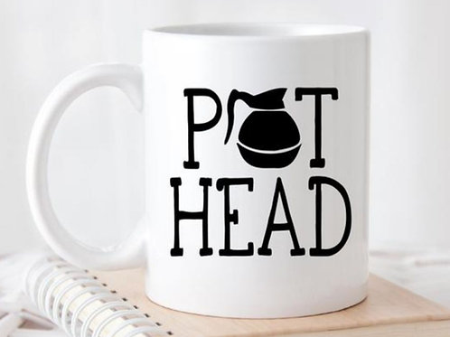 "Coffee Mug ""pot head"""