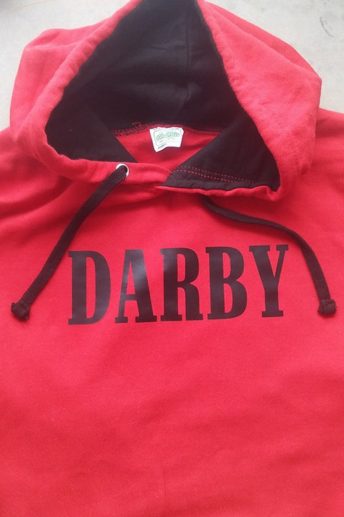 Darby Black and Red Hoodie