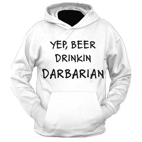 Beer Drinkin Darbarian Hoodie