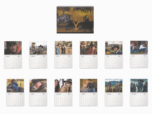 Yellowstone Calendar 2021