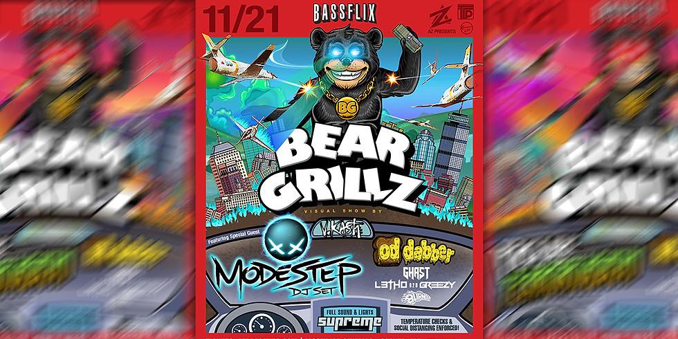Bassflix: Bear Grillz & Modestep. Drive-In Concert.