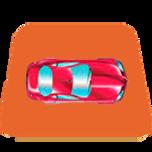 Acomoda el carro roj