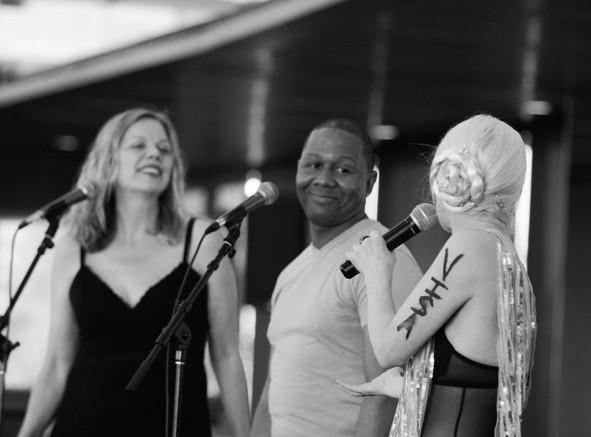 Louisa Bradshaw, Harlem Lafayette & Carrie Beehan