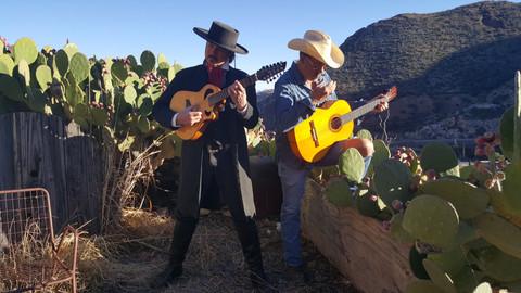 Robert Longley and Roger Thorenson, Bisbee, Arizona