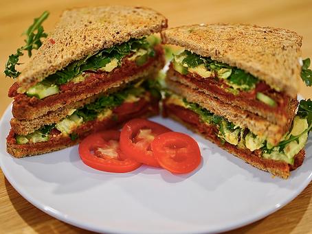 Red Pesto Sandwich (Vegan, Trader Joe's)