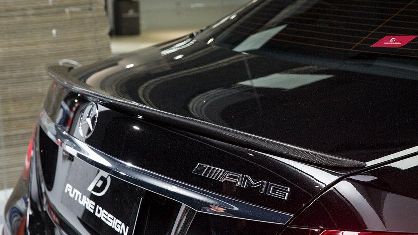 GS Carbon Fiber Spoiler - black W213 E-Class All Trim Level