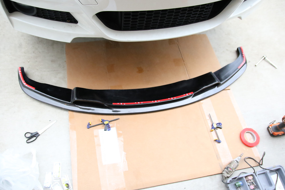 BMW M-Sport Bumper, Front Lower Lip/Splitter DIY Tips