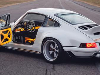 Opulent Jewelry Like Tachometer on Singer-Williams DLS - Remastered 1990 Porsche 964 Modern Art