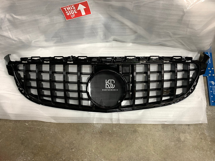 us in stock 2015 2016 2017 2018 2019 2020 2021 w205 c205 c63 c63s panamericana amg gt style front grill