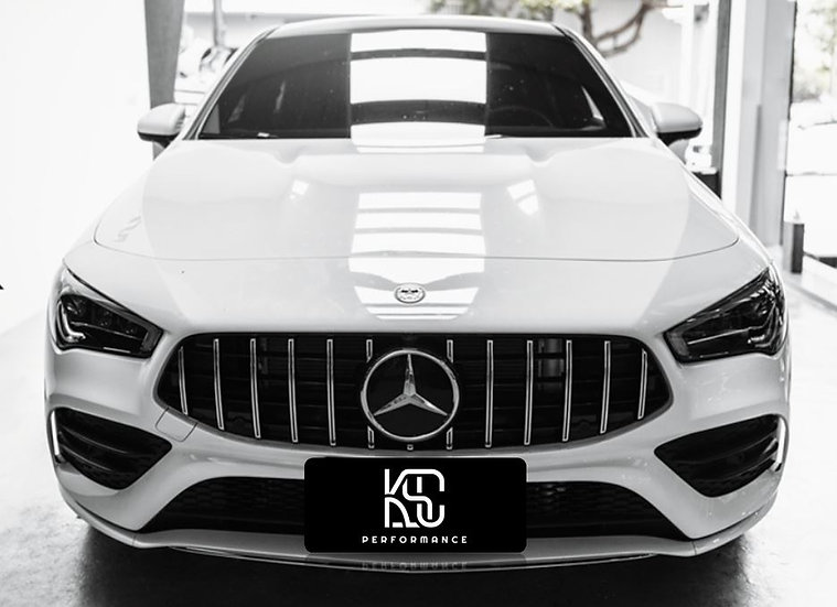 c118 w118 cla panamericana amg gt style front grill. in stock in usa