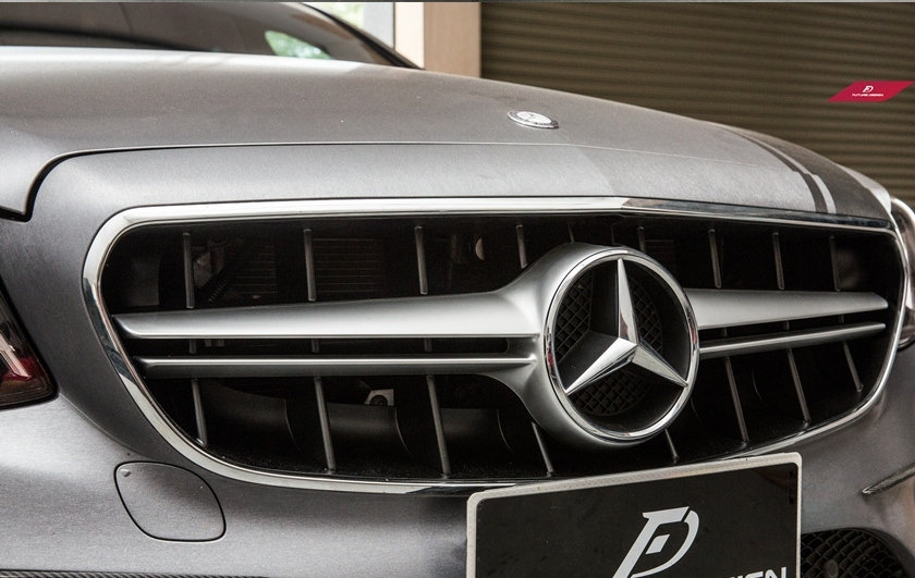 Benz W213 E-Class E63 Grill (Matte Silver Center)
