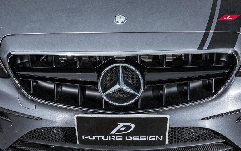 Benz W213 E-Class E63 Grill (Gloss Black Center)