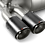 Akrapovic Titanium Slip-On Rear Muffler for BMW F80 F82 F83 m3 m4 with carbon fiber tips