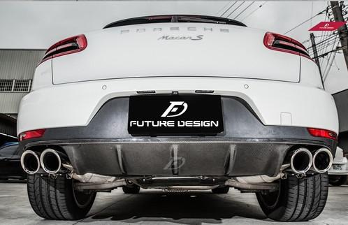 Mercedes Benz Bellevue >> Porsche Macan Carbon Fiber Rear Lower Dress Up Cover | Benz BMW Carbon Fiber Parts Specialist ...