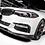 BMW G30 5-Series M-Sport - RS Carbon Fiber Front Lip Spoiler Set (3 Pieces)