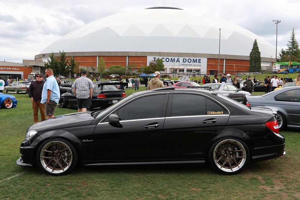 black w204 c63 with bc forged gold wheels carbon fiber body kit similar to vorsteiner future design rw jl mode psm modbargain ebay aliexpress